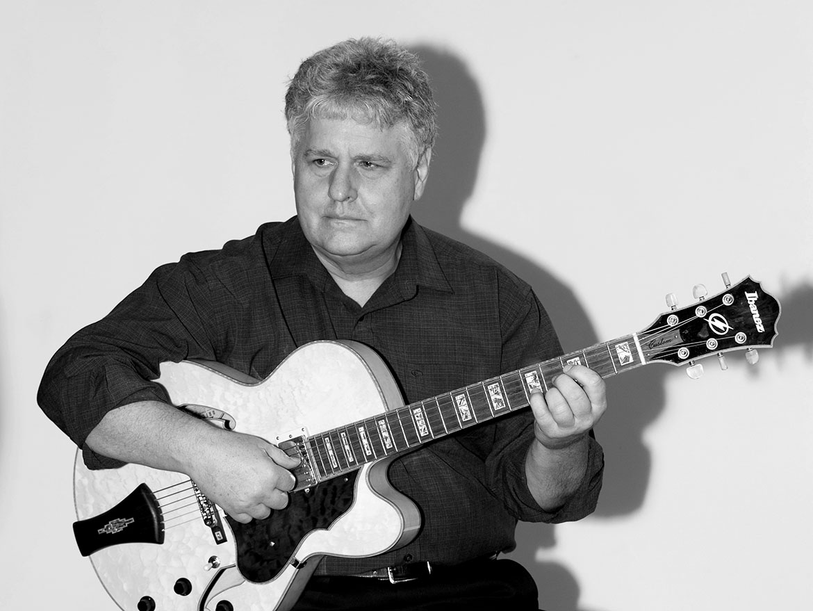 Lloyd English Jazz Guitar Player Victoria